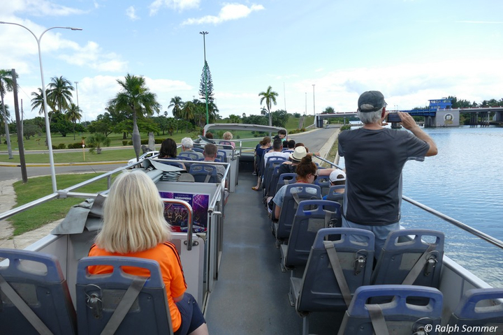 Hop on Hop off Bus in Varadero auf Kuba