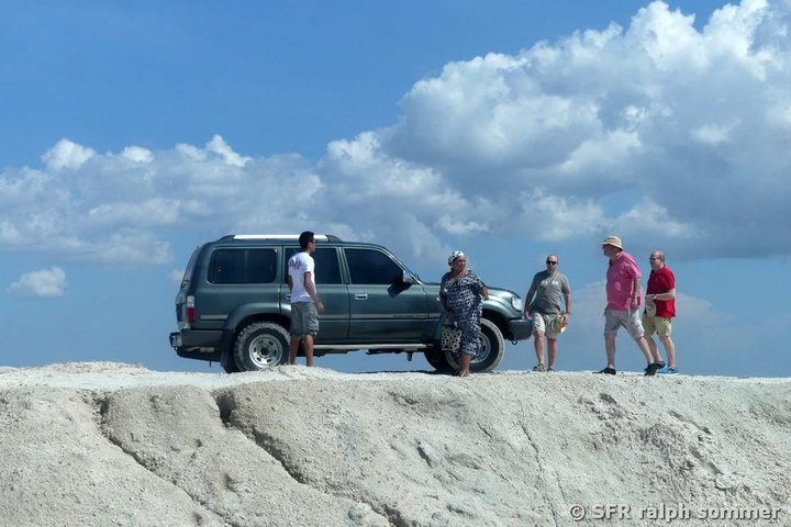 Landcruiser in La Guajira