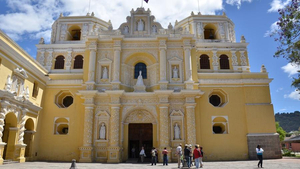 Iglesia de la Merced in Antigua
