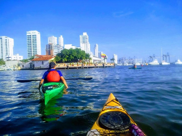 Kayak Tour in Cartagena