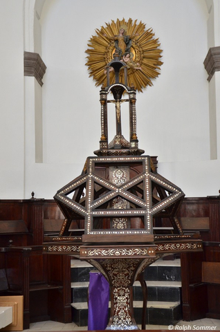 Altar in der Kathedrale