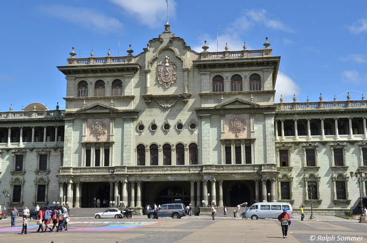 Nationalpalast in Guatemala-City